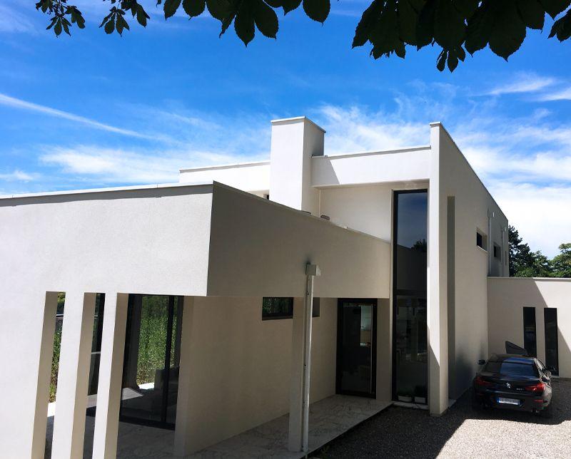 meta projet immobilier maison contemporaine